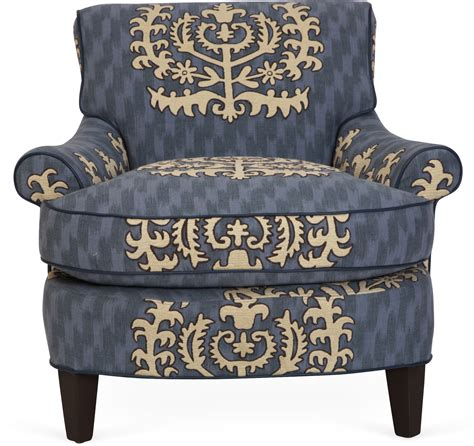 blue embroidery chair omero home