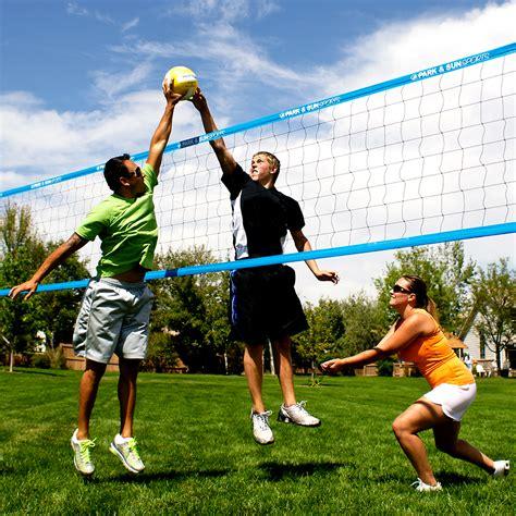 backyard volleyball set park sun sports tournament flex 1000 portable outdoor