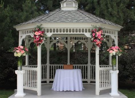 gazebo wedding decorating pictures photograph how to dress