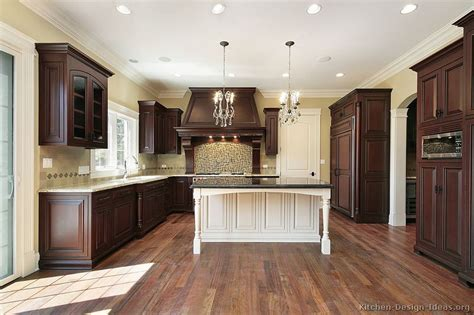 white kitchen wood island pictures of kitchens traditional two tone kitchen cabinets page 7