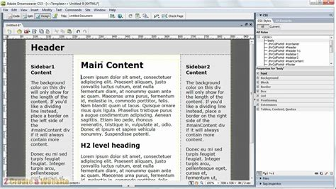 dreamweaver tutorial in pdf adobe dreamweaver cs3 full tutorial pdf free download