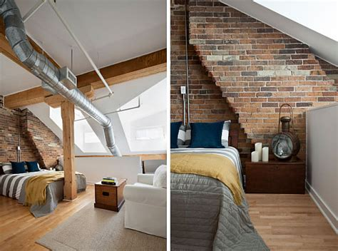 bedroom lofts toronto penthouse loft gets a contemporary makeover in
