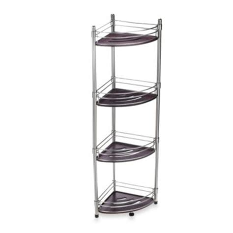 bathroom steel shelves buy bath corner shelves from bed bath beyond