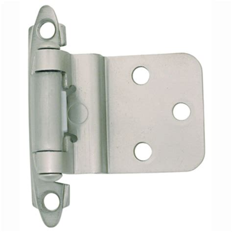 satin nickel cabinet hinges cabinet hinge offset self closing satin nickel bargain