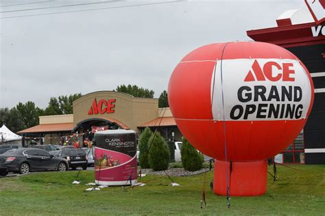 ace hardware opening hours king throws party at new lockwood ace hardware lockwood
