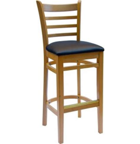 bar stools burlington burlington wooden bar stool with vinyl seat cfs 101v bar
