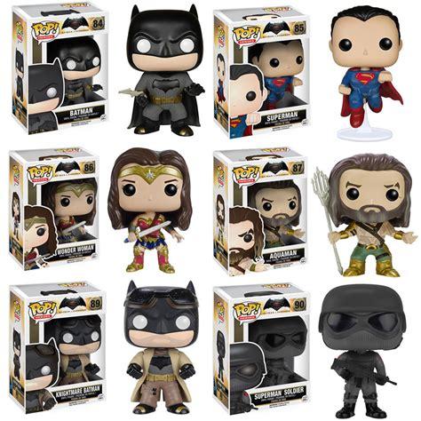 Figure Batman Vs Superman 1set funko pop batman v superman vinyl figures