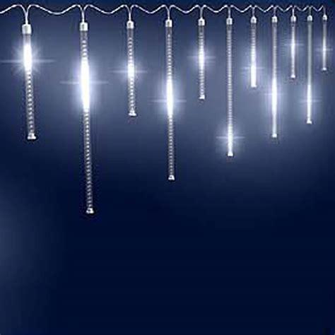 shooting star icicle lights led shooting star icicle lights northern lights and trees
