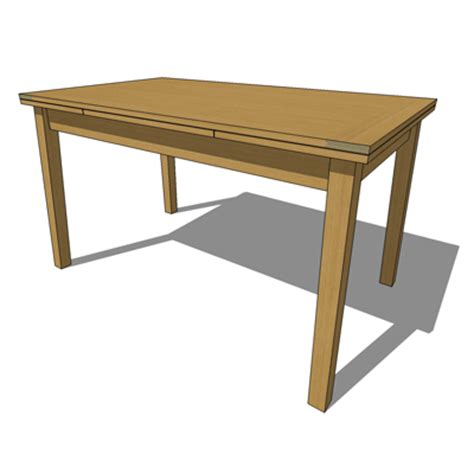 Habitat Dining Table Ruskin Table 3d Model Formfonts 3d Models Textures