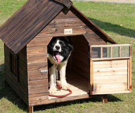hot sale kennel outdoor balcony carbonized fir anti