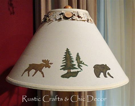Diy Decorate L Shade by Diy L Shades In A Rustic Chic Style Rustic Crafts