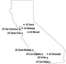 uc california map map of california uc schools deboomfotografie