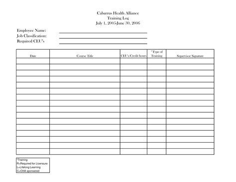 microsoft employee training record template pictures to