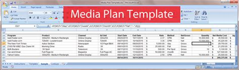 Free Download Media Plan Template Bionic Advertising Systems Media Flowchart Template Excel