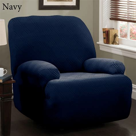 slipcover recliner chair double diamond stretch jumbo recliner slipcovers