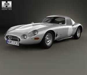 Jaguar e type lightweight 1963 3d model humster3d