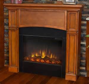 electric fireplace in pecan finish traditional fireplaces
