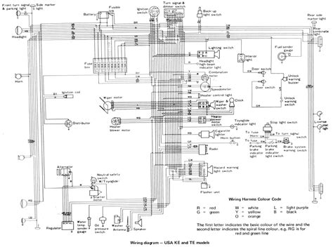 94 toyota corolla wiring diagram wiring diagram with