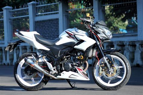 Sparepart Honda Cb150r 2015 50 gambar modifikasi cb150r gagah dan keren modif drag