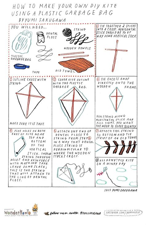 How To Make A Paper Kite That Flies - how to turn a plastic garbage bag into a high flying diy