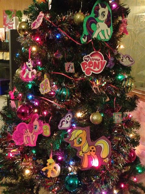 more of my little pony christmas tree by unicornkiddo on