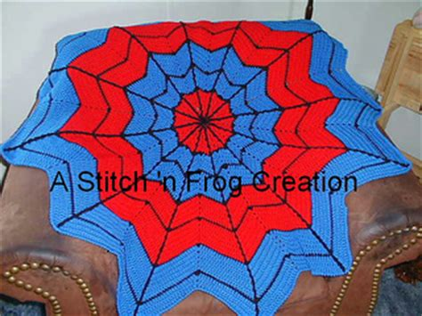 spiderman knitting pattern book ravelry superhero dreamcatcher afghan pattern by gail e