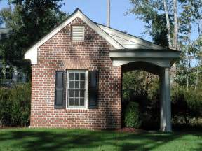 Brick Garages Designs Brick Potting Shed