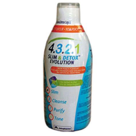 Slender Detox by 4321 Slim Detox Evolution 500 Ml