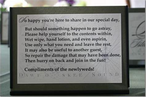 poem for wedding bathroom basket wedding bathroom basket sayings wedding forums gt wedding