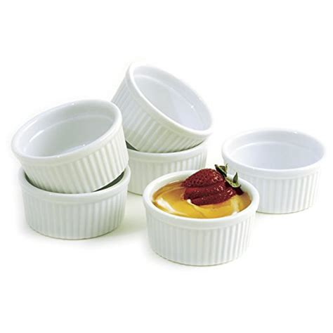 Set Joana Abu Ml norpro 4oz 120ml porcelain ramekins set of 6 kitchen in the uae see prices reviews and buy