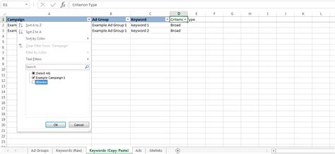 Our Reved Excel Template The Fastest Way To Create Adwords Caigns Adwords Editor Excel Template