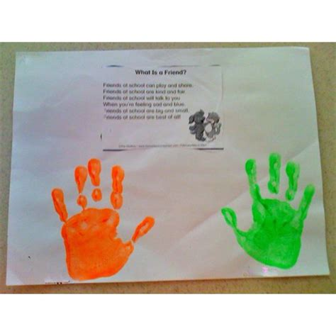 friendship craft for teach your kindergarten class about martin luther king jr