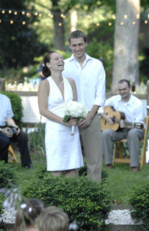 cost of backyard wedding real weddings sherry and john s backyard diy wedding
