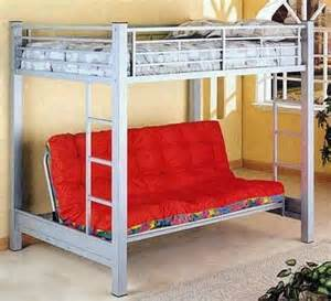 size loft bed w futon small bedroom