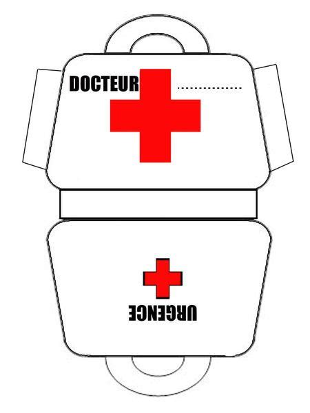 doctor bag craft template de m 233 dicos y hospital varios imprimibles 2