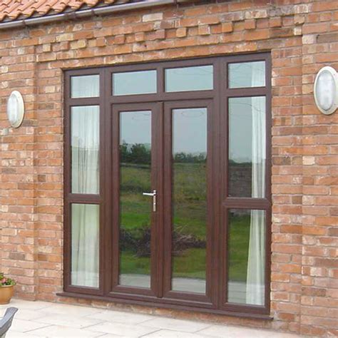 brown doors upvc manchester glazing replacement windows upvc