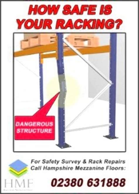 Rack Safety Inspection by Racking Safety Inspections Sema Approved Inspectors Hmf