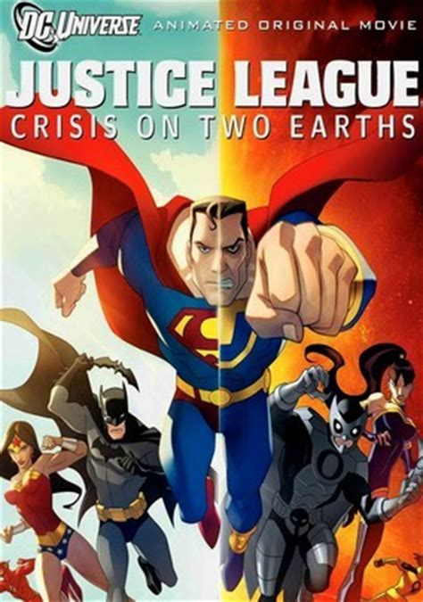 film streaming justice league crisis on two earths vf justice league crisis on two earths 2010 for rent on