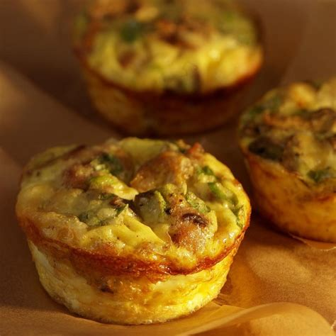 Eat In Kitchen Ideas by Mini Mushroom Amp Sausage Quiches Recipe Eatingwell