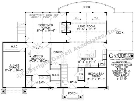 Low Country House Floor Plans