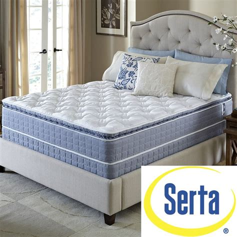 Size Split Mattress by Serta Revival Pillowtop Split Size Mattress And Foundation Set