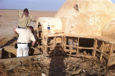wars house wars fans restore luke skywalker s igloo shaped home