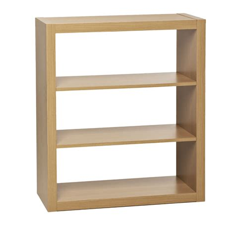 wilko bookcase oslo style 3 tier oak effect at wilko