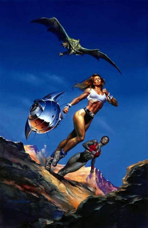 boris vallejo predators 1990 fantasy sci fi art boris vallejo predator and illustration by boris vallejo fantasy art boris vallejo fantastic art art