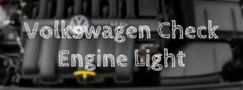 reset  vw check engine light