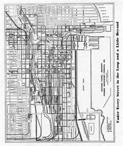 Chicago Underground Tunnels Map by Chicago Underground Tunnels Map Pictures To Pin On