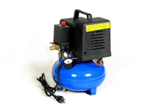 portable 1 3 hp 2 gallon pancake air compressor tool