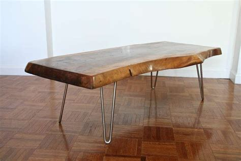 Hairpin Leg Coffee Table Walnut Coffee Table With Hairpin Legs At 1stdibs