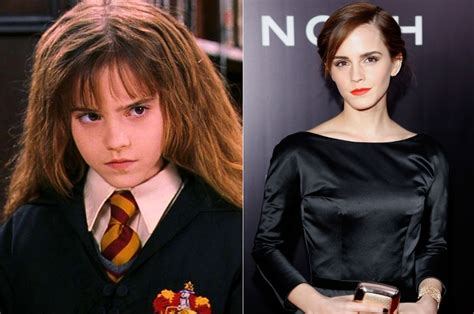 emma watson now and then celebrities that grew up to be hot thetabpost