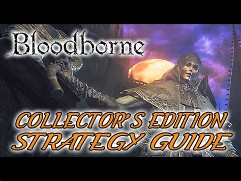 bloodborne collectors edition strategy 3869930691 bloodborne collector s edition strategy guide book youtube